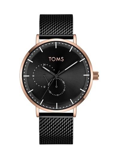 Toms Watch Saat Siyah